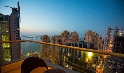 فلیٹ 2 غرفة نوم للبيع في دبي مارينا، دبي - Furnished | 2BR | Bay Central