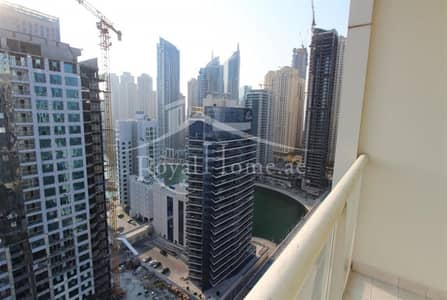 1 Bedroom Apartment for Rent in Dubai Marina, Dubai - 1BR Furnished | Marina View | Multiple Chqs Option