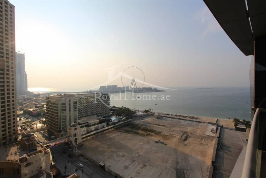12 3BR+M | Full Sea View | Middle Floor | Chiller