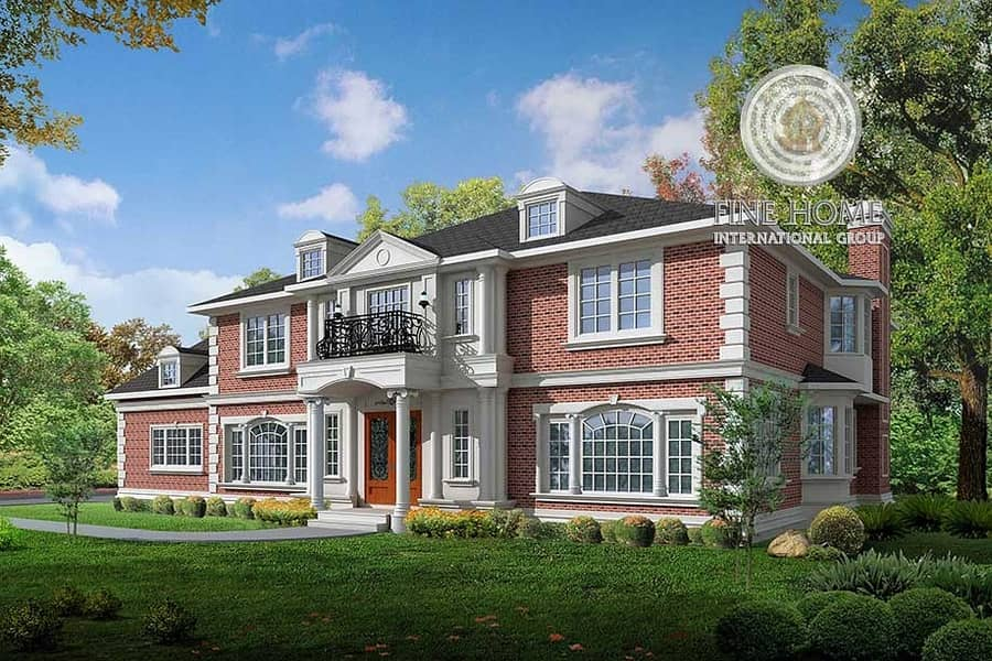 Brand New Villa 7BR Super Deluxe finishing &Garden