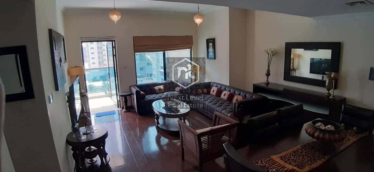 2 Partial Marina View | Fully Furnished | Decent Apartment
