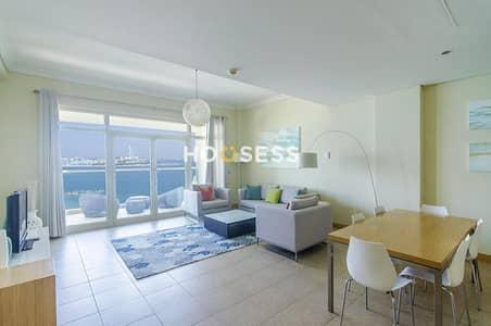 فلیٹ 1 غرفة نوم للايجار في نخلة جميرا، دبي - Free One month   Chiller included   1 Bed