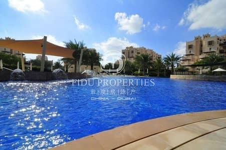 فلیٹ 1 غرفة نوم للايجار في رمرام، دبي - Pool and Park view | Cozy apt | Best deal