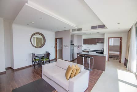High-End Luxury 1BR | Large Furnished | Golf View!