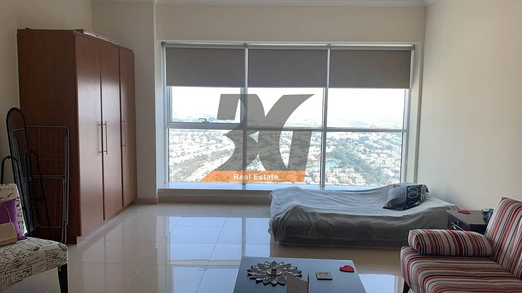 2 Fully Furnished Studio for rent in saba tower 3