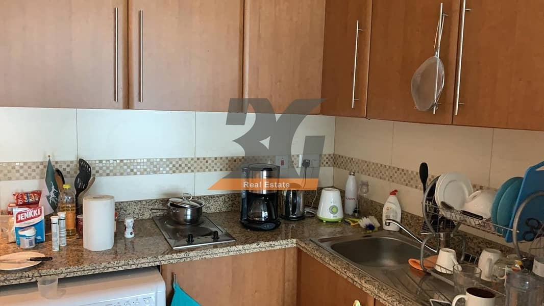 9 Fully Furnished Studio for rent in saba tower 3