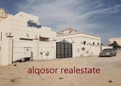 فیلا 3 غرف نوم للبيع في الياسمين، عجمان - فيلا للبيع طابق ارضى بالماء والكهرباء والمكيفات والفرش تشطيبات سوبر ديلوكس