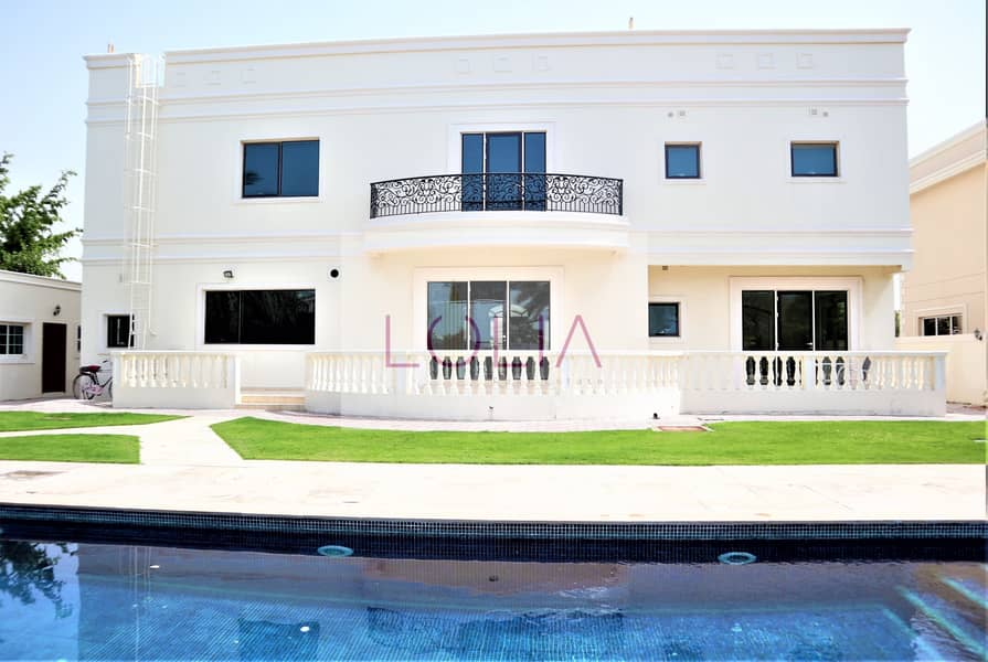 Luxurious | 5BR +Maid |  Pool & Garden