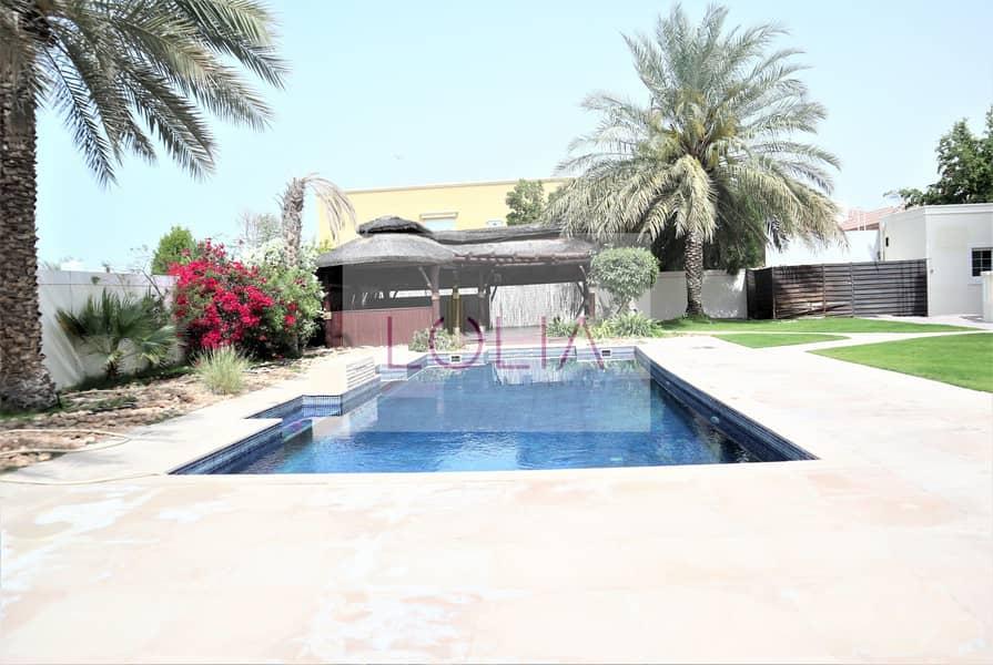 2 Luxurious | 5BR +Maid |  Pool & Garden