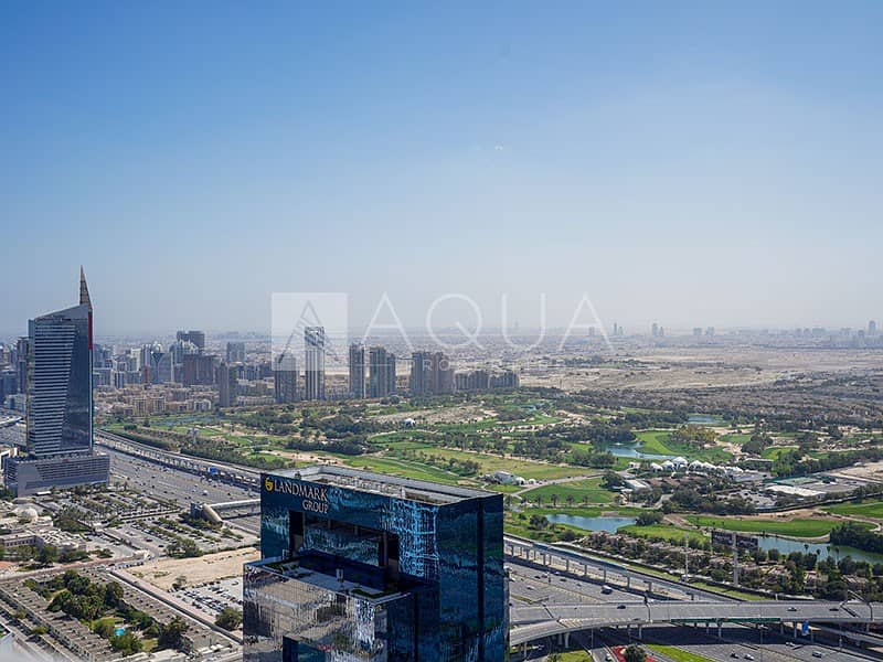 14 Stunning Full Golf Course View on High Floor