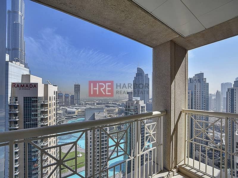 2 Renovated| Stunning Burj Khalifa & Fountain View