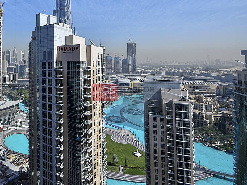 15 Renovated| Stunning Burj Khalifa & Fountain View