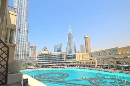 شقة 1 غرفة نوم للبيع في وسط مدينة دبي، دبي - 1 Bedroom | Burj Khalifa & Fountain View