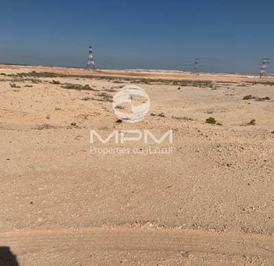 ارض صناعية  للايجار في المرفأ، أبوظبي - Special Land for Poultry Farm