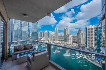 3 Bedroom Apartment for Sale in Dubai Marina, Dubai - Large Layout | 3 Bed | Marina View