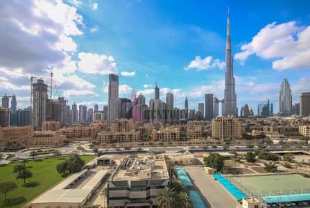 شقة 2 غرفة نوم للايجار في وسط مدينة دبي، دبي - Stunning Burj Khalifa view   Furnished 2 BR Apt