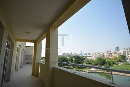3 Bedroom Apartment for Sale in Motor City, Dubai - Lake View| Second Floor |Well Maintained