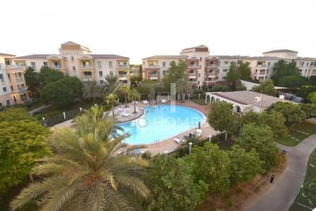 1 Bedroom Apartment for Sale in Green Community, Dubai - Best Type  | Corner unit with Pool Views