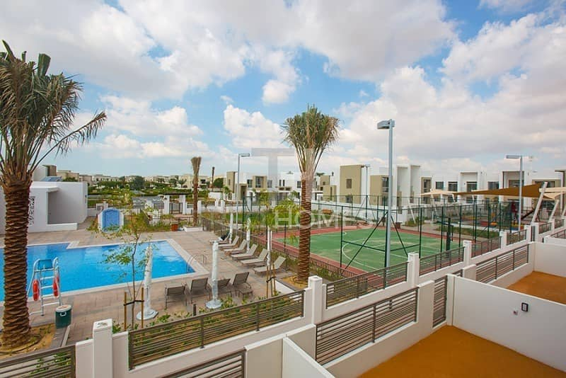 Pool and Park View | 2M | 3Bed+Maid | Brand New