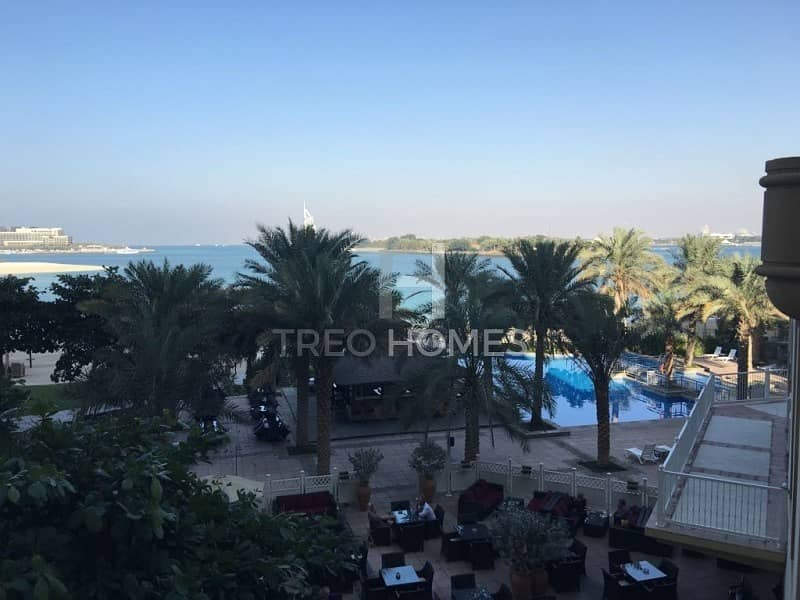 Full Sea and Burj View | Furnished Option