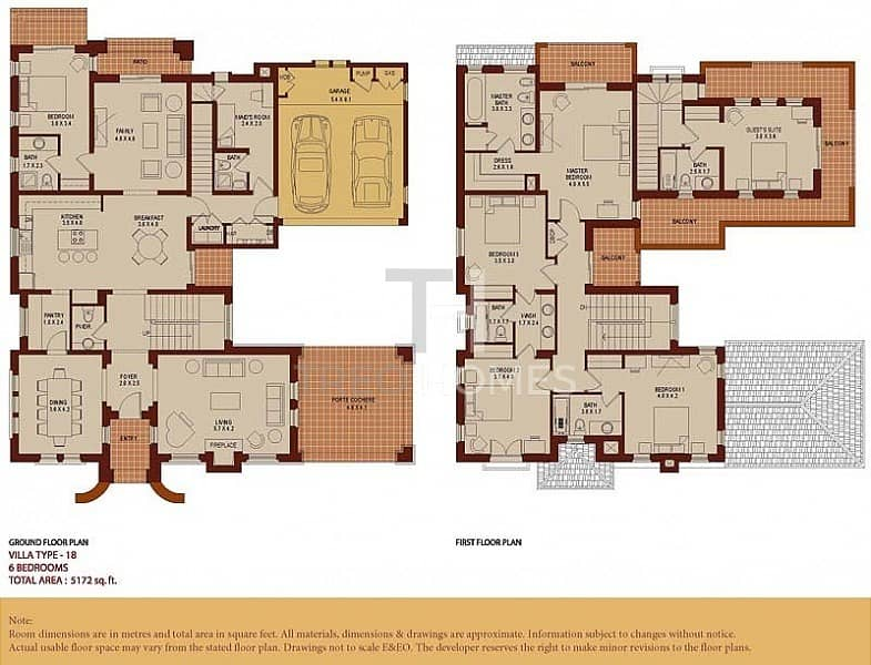 19 Amazing Price | AED754/Sqft | 6Beds+made | Type 18