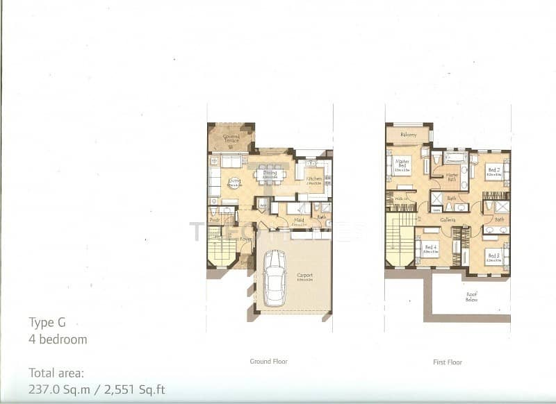 15 Type G | Spacious | Brand New Townhouse
