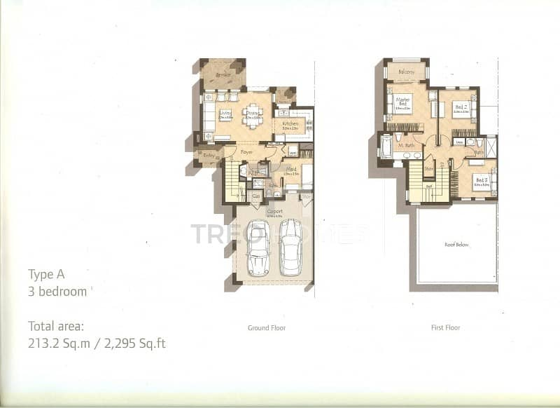 15 Brand new 3 Bed in private cluster
