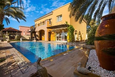 فیلا 6 غرف نوم للبيع في المرابع العربية، دبي - Newly Upgraded I Prestine Golf View | Must View