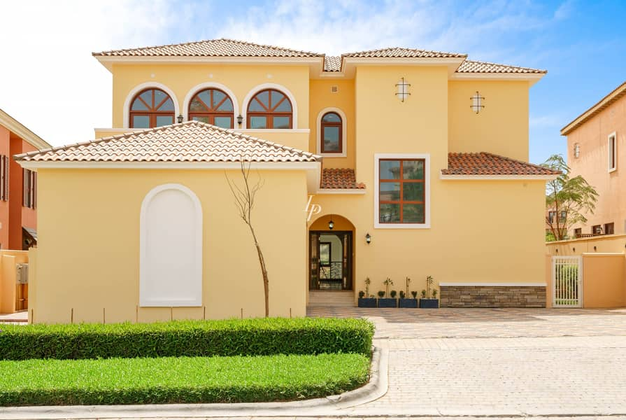 Classical Tuscan Style|Lake View|Available Now