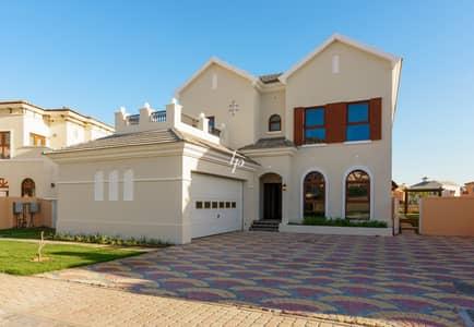 فیلا 4 غرف نوم للبيع في عقارات جميرا للجولف، دبي - Exclusive | Four-Bedroom Villa With Lake View
