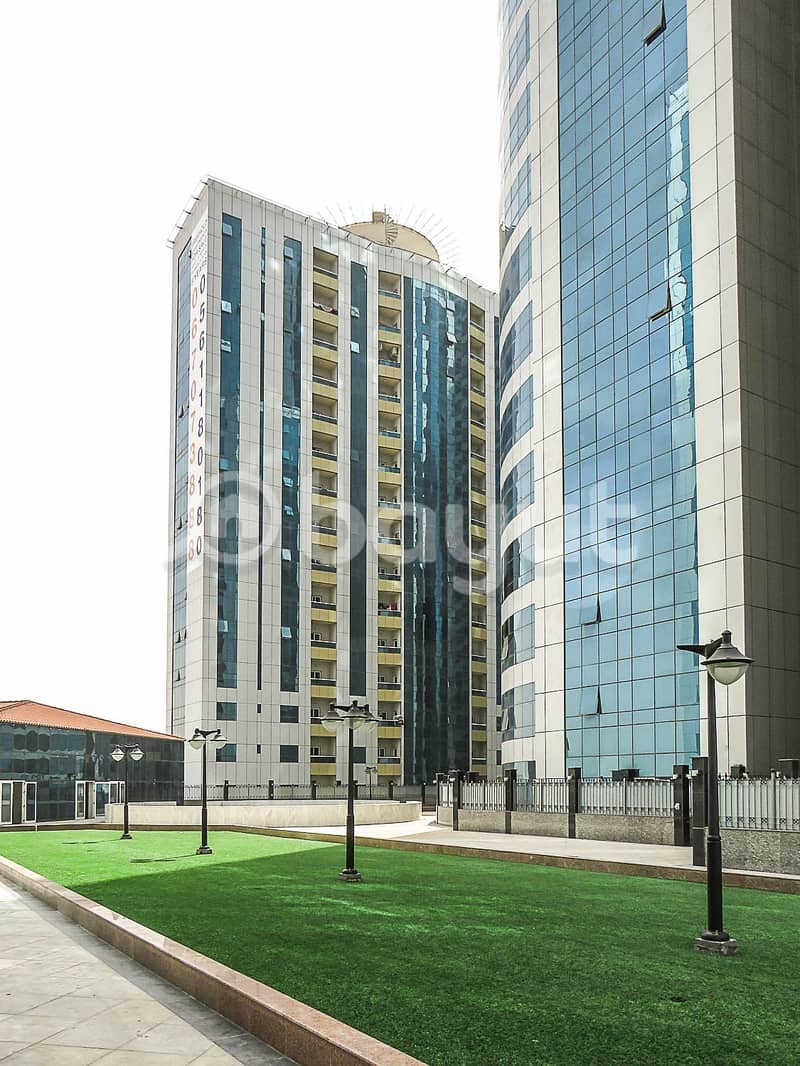 No Commission 2 BHK  For sale In Orient Tower With Parking partial sea view