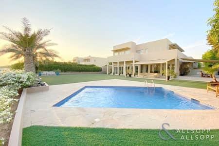 فیلا 5 غرف نوم للبيع في المرابع العربية، دبي - Golf Course View | Private Pool | Exclusive