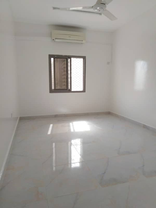 Close to Mega Mall 1 Month Free Brand New Finishing Lavishly Designed 3BHK with Balcony Split AC Central Gas
