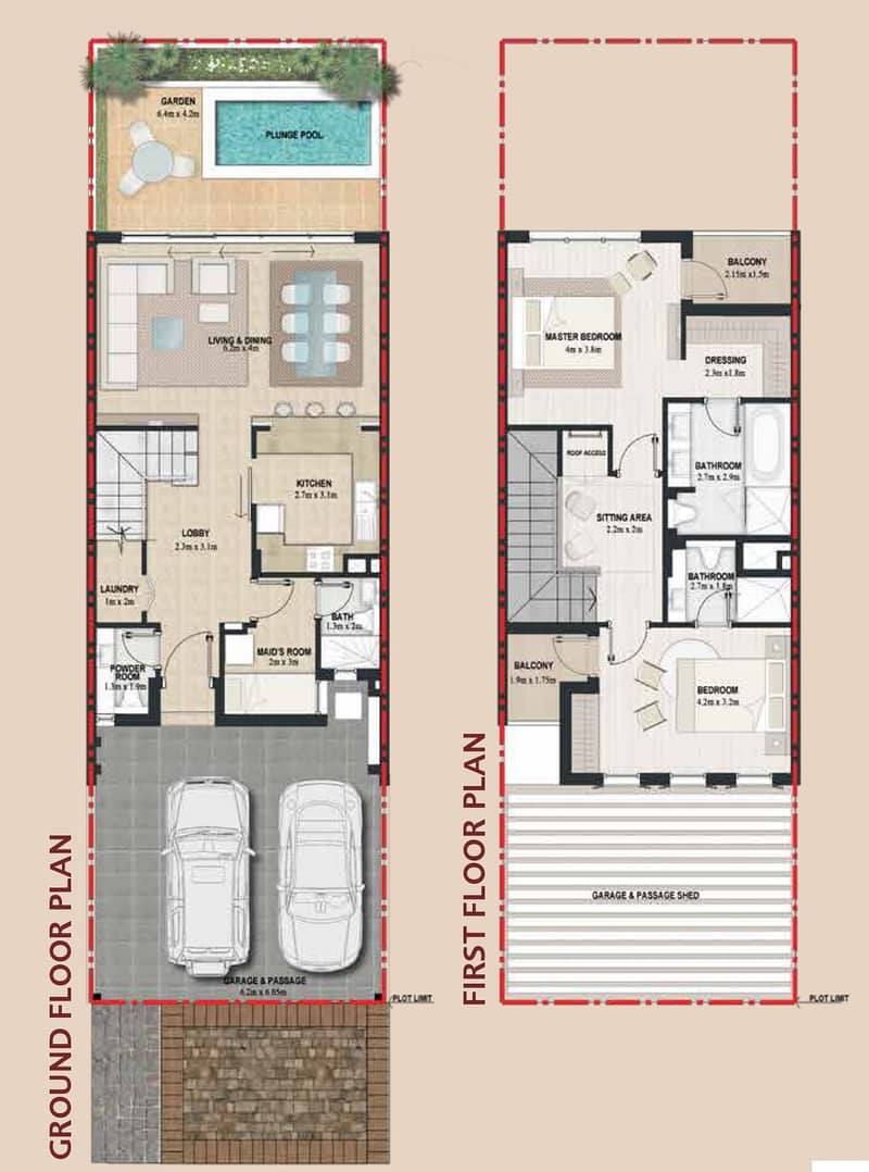 10 Plaza Backing | 2 Bed Plus Maids | Vacant