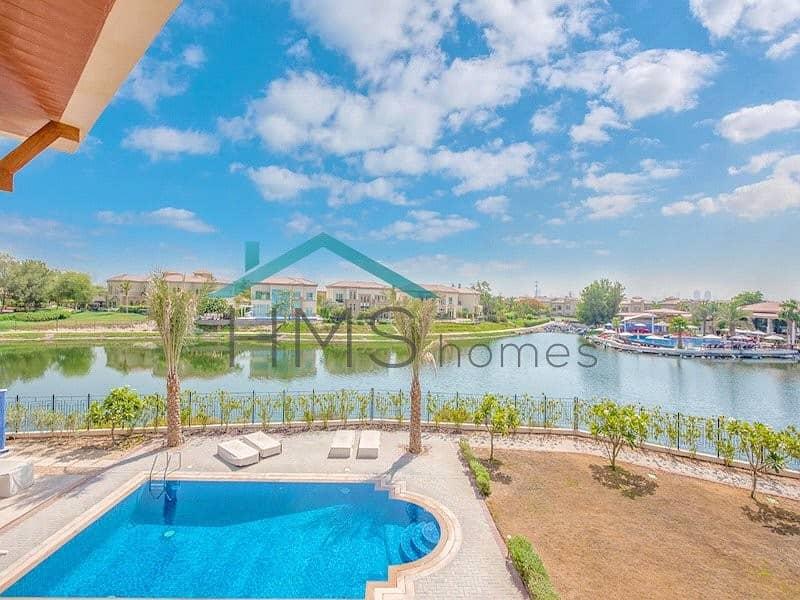 FULL LAKE VIEW Gorgeous Jumeirah Islands Mansion