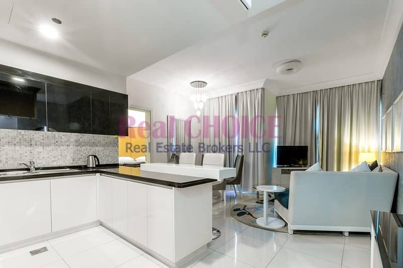2 Amazing View|2BR Furnished Apartment|High Floor