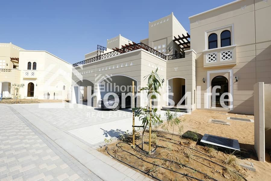 2 Al Naseem | Single row | Type A | End Unit| Ready to Move in