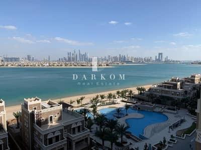 شقة 3 غرف نوم للايجار في نخلة جميرا، دبي - Breathtaking Palm  and Sea View   Type D2   Block C   3BR + Maid