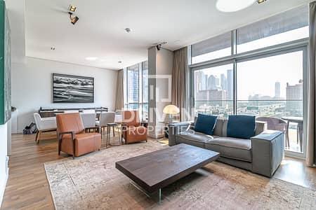 فلیٹ 2 غرفة نوم للبيع في جميرا، دبي - High Floor 2 Bed Apt | Open Skyline View