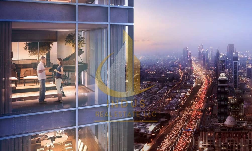 Iconic Tower | Aykon City - Overlooking Dubai Canal | From AED 665K
