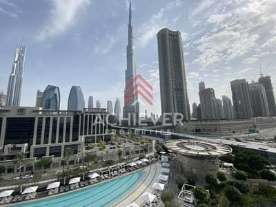 فلیٹ 2 غرفة نوم للايجار في وسط مدينة دبي، دبي - Stunning 2 Bedroom   Full Burj Khalifa View
