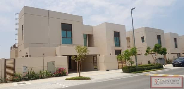 5 Bedroom Villa for Sale in Meydan City, Dubai - PARK FACING   MIDDLE UNIT  LANDSCAPED