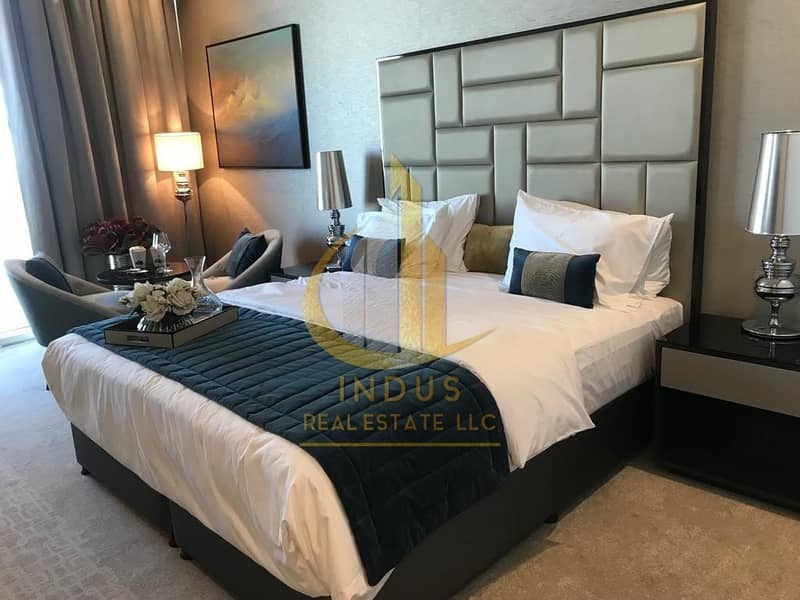 2 Premium Furnished Apts at Gated Golf Community in Damac Hills | Ideal Investment