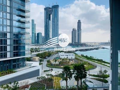 شقة 1 غرفة نوم للايجار في جزيرة بلوواترز، دبي - Amazing high floor w/balcony