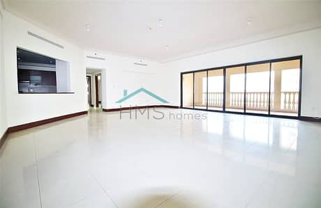 3 Bedroom Apartment for Rent in Palm Jumeirah, Dubai - Park Facing | Type A | Immaculate Apartment
