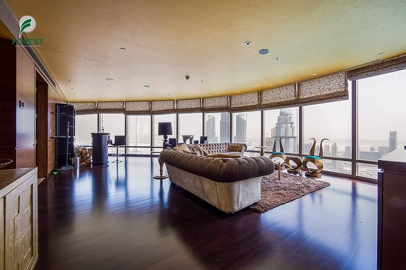 2 Furnished 2 BR with Full Fountain View Burj Khalifa