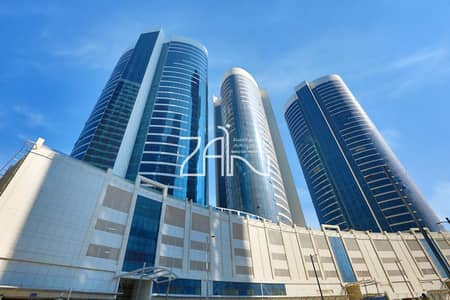1 Bedroom Flat for Rent in Al Reem Island, Abu Dhabi - Sea View! 1 BR Apt for 4 Payments in High Floor
