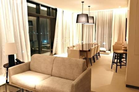 فلیٹ 3 غرف نوم للايجار في التلال، دبي - Fully Furnished and Service Apt in Vida The Hills