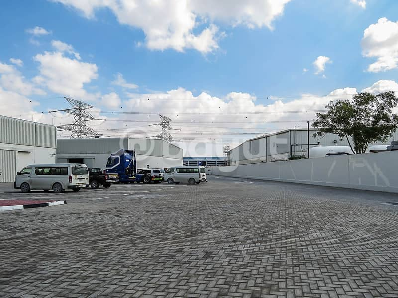 21 Direct from Landlord - Industrial Warehouse Available in Jebel Ali with 1 Month Free