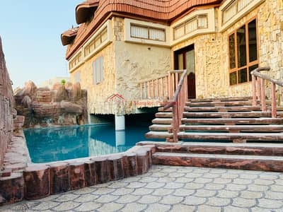 3 Bedroom Villa for Rent in Mirdif, Dubai - Quality semi independent 3 bedroom with private pool villa